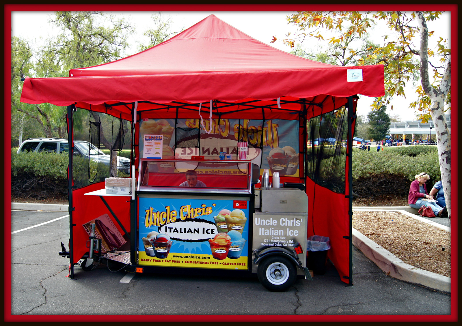 Large Food Truck
